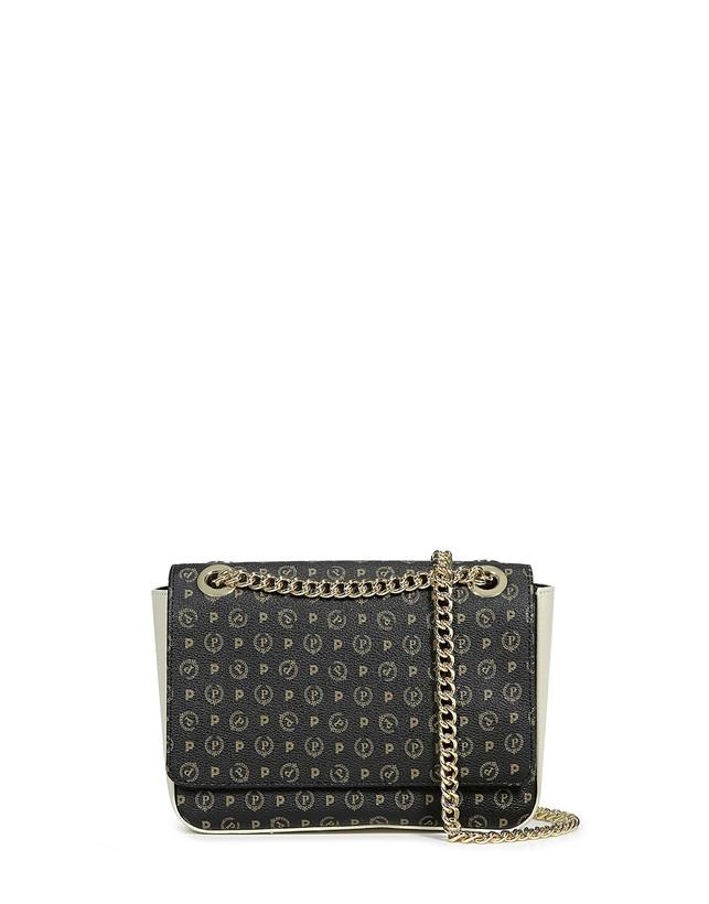 a basso prezzo 53037 52ddc Tracolla Nero/avorio Donna - Pollini Online Boutique