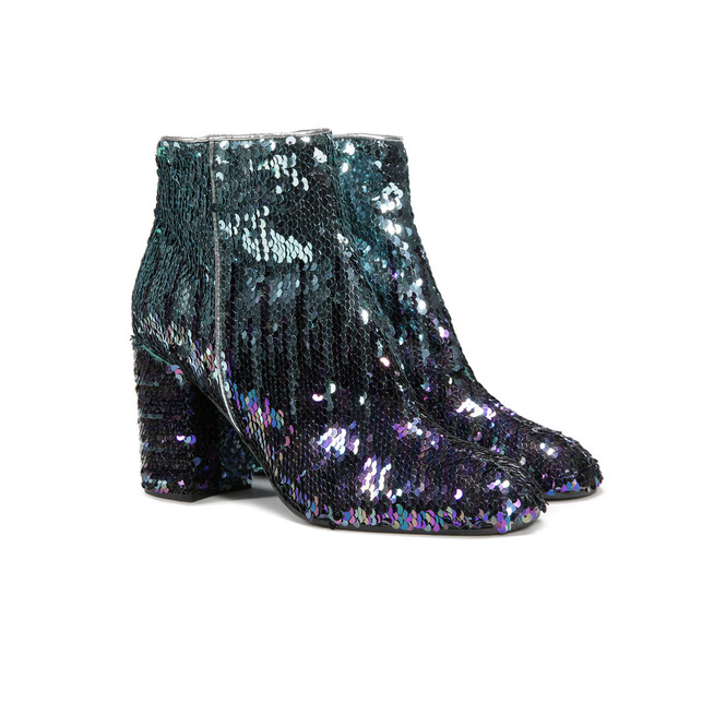 Ankle boots Peacock