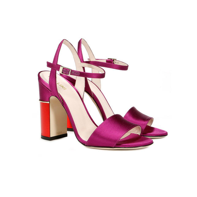 Sandals Orchid/red