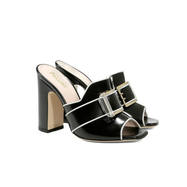Sandals Black/white