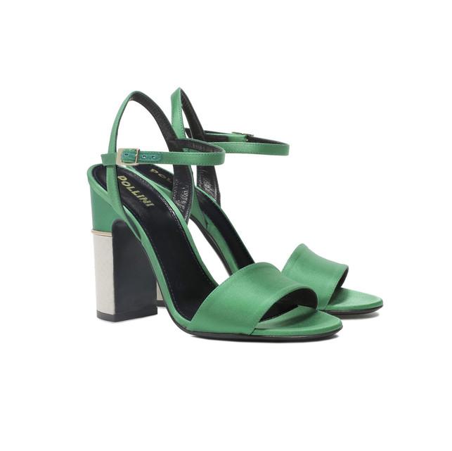 Sandali Verde/avorio