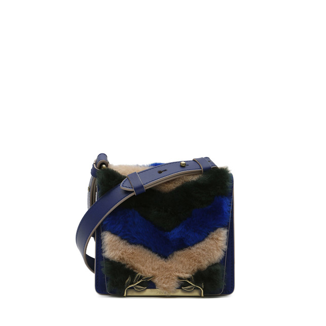 Shoulder bag Multicolour/electric blue/electric