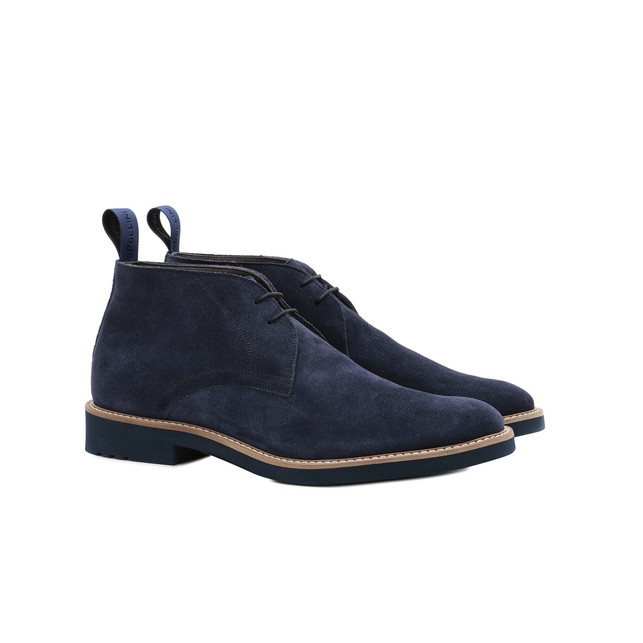 Desert boots Brigth blue