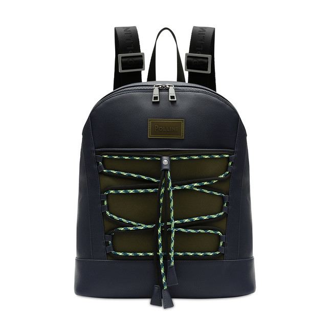 Backpack Blue/military green