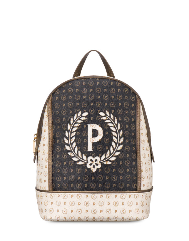 Backpack Ivory/black/bronze