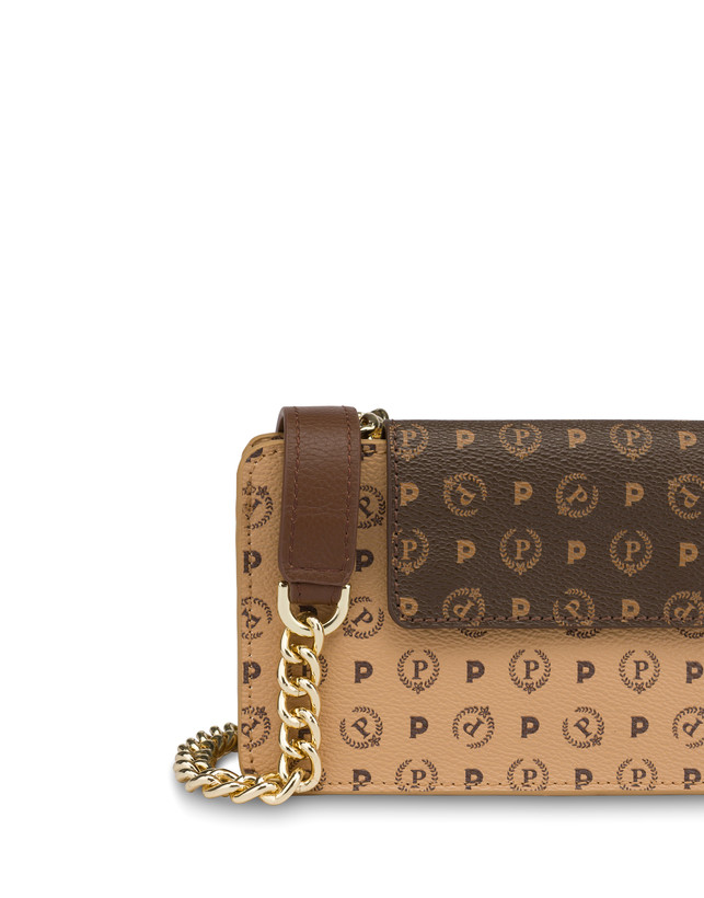 Heritage bicolor cell phone clutch bag Photo 5
