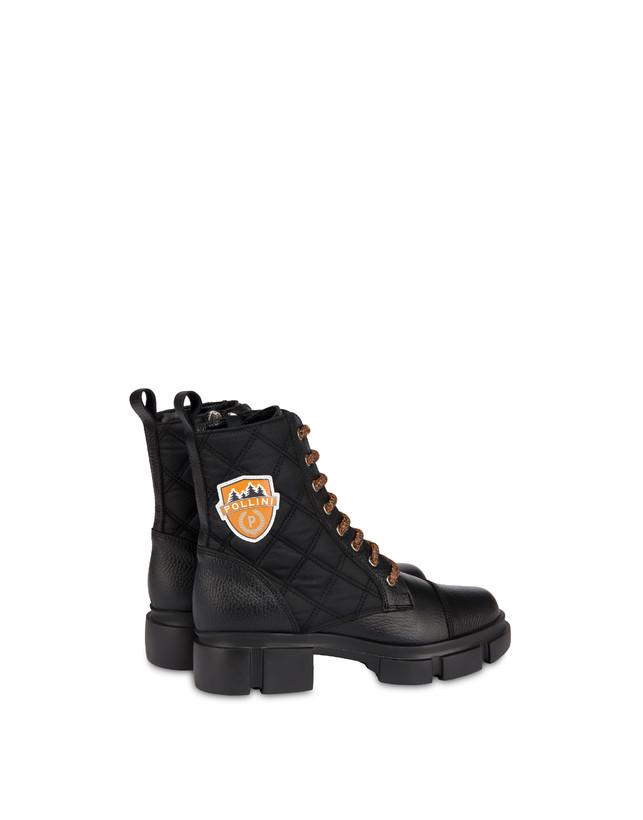 Aspen Patch Boots calfskin combat boots Photo 3