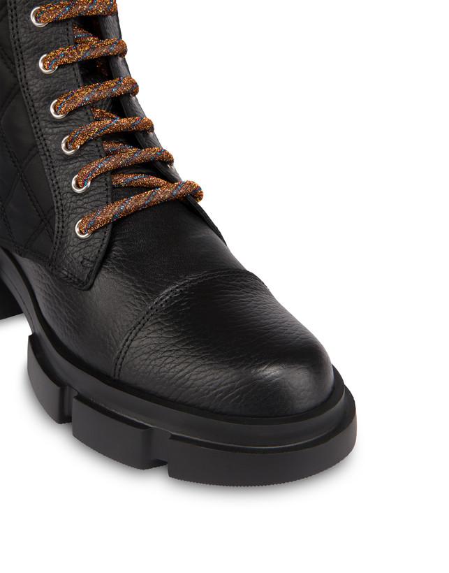 Aspen Patch Boots calfskin combat boots Photo 4