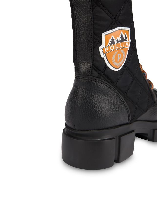 Aspen Patch Boots calfskin combat boots Photo 5