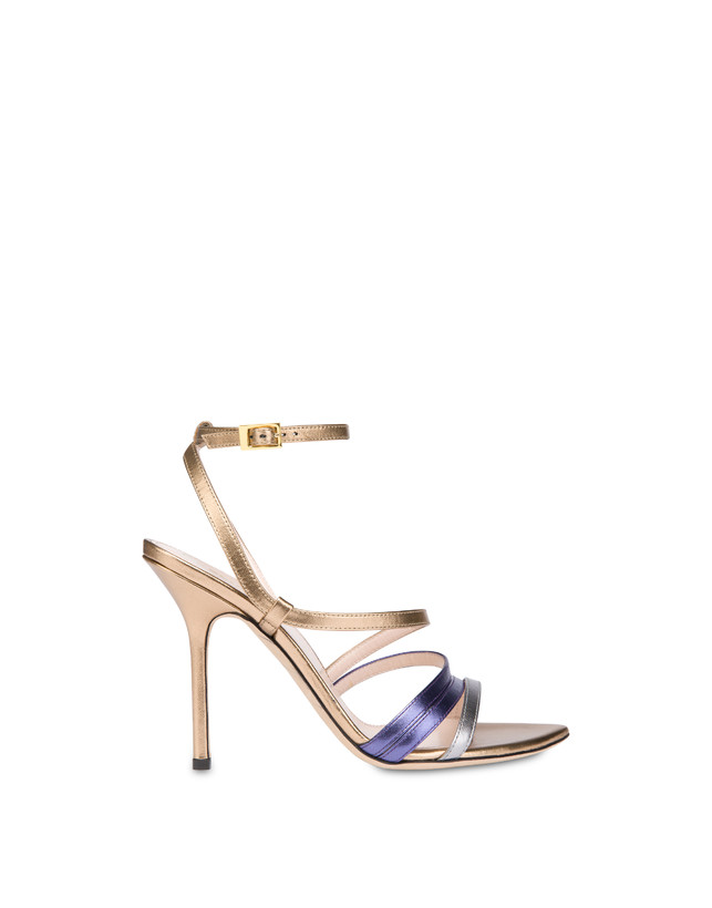 Laminated nappa leather Evening Sandals Photo 1