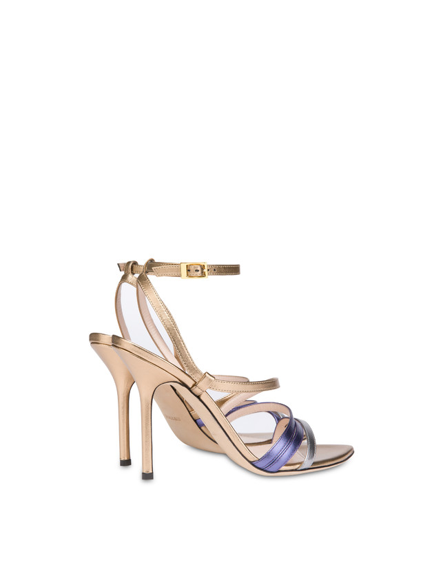 Laminated nappa leather Evening Sandals Photo 3