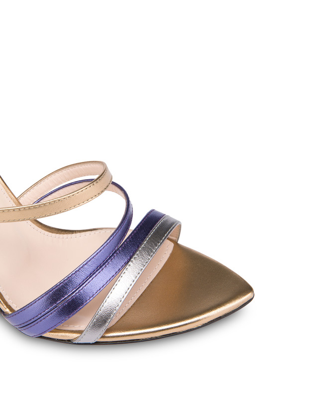 Laminated nappa leather Evening Sandals Photo 4