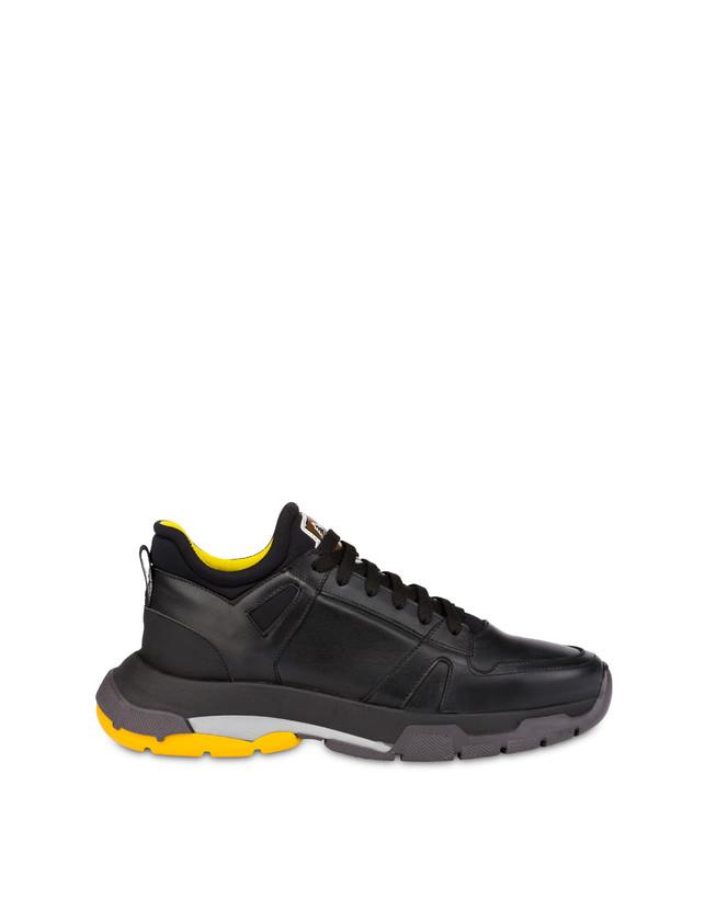 Sfera calfskin and neoprene sneakers Photo 1