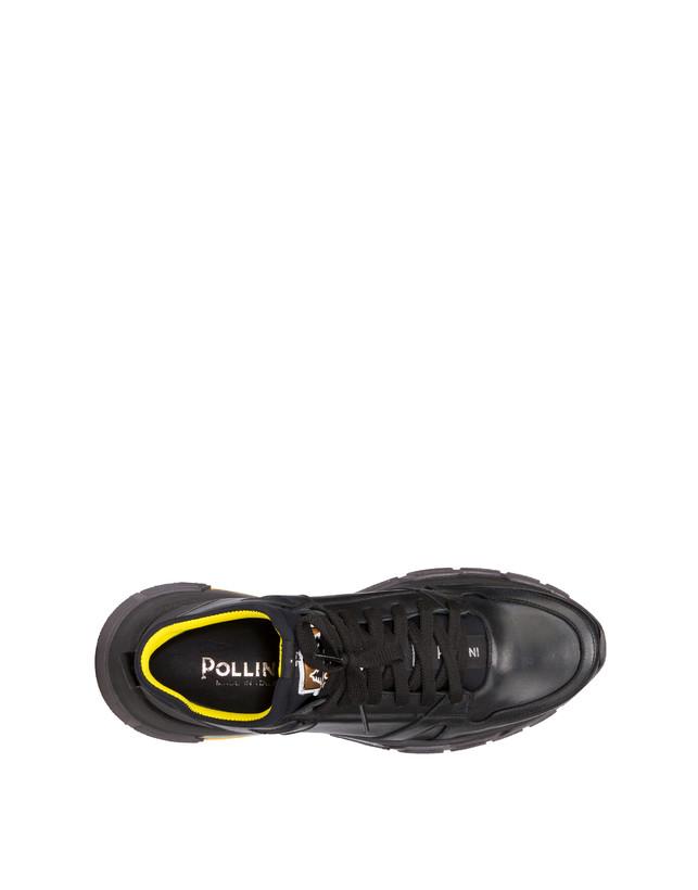 Sfera calfskin and neoprene sneakers Photo 3
