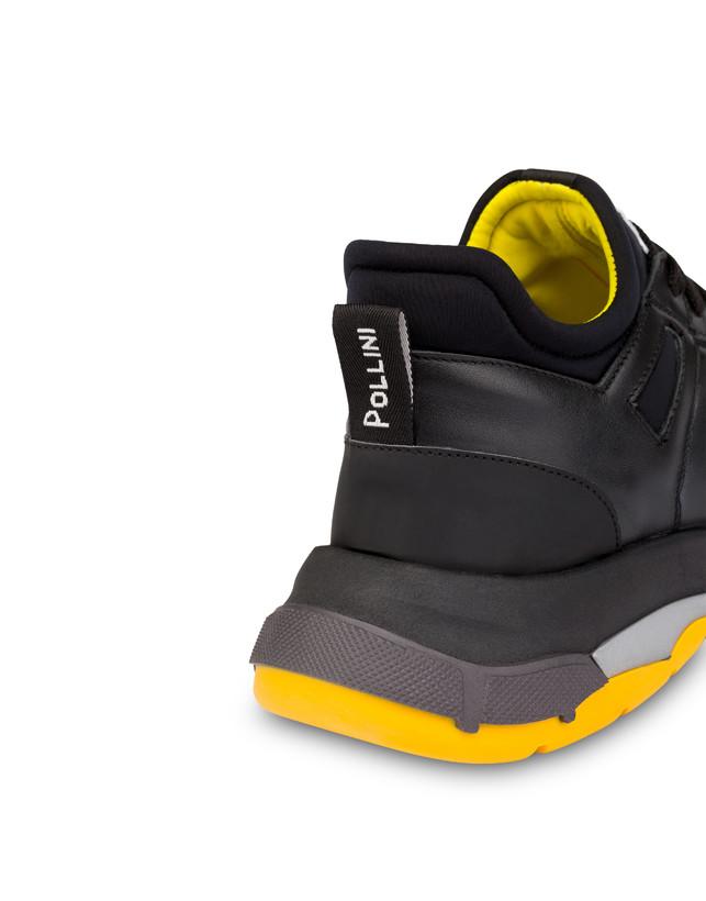 Sfera calfskin and neoprene sneakers Photo 5