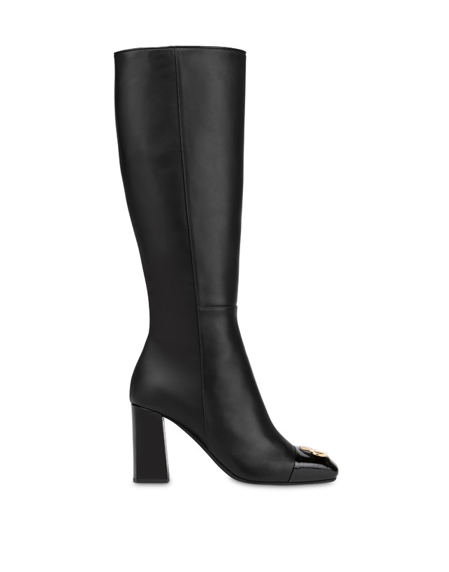 Twin P calfskin boots Photo 1