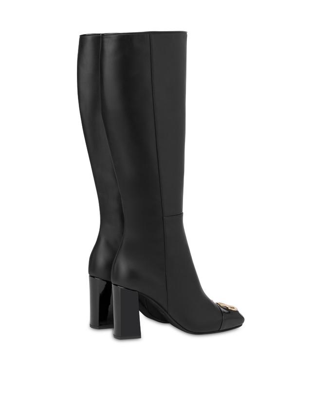 Twin P calfskin boots Photo 3