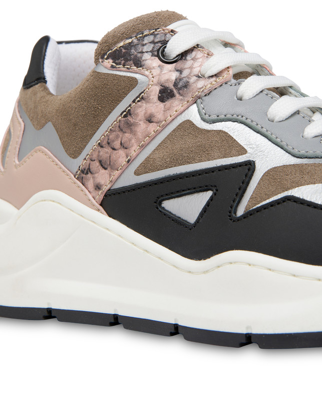 New Kite suede and leather sneakers Photo 4