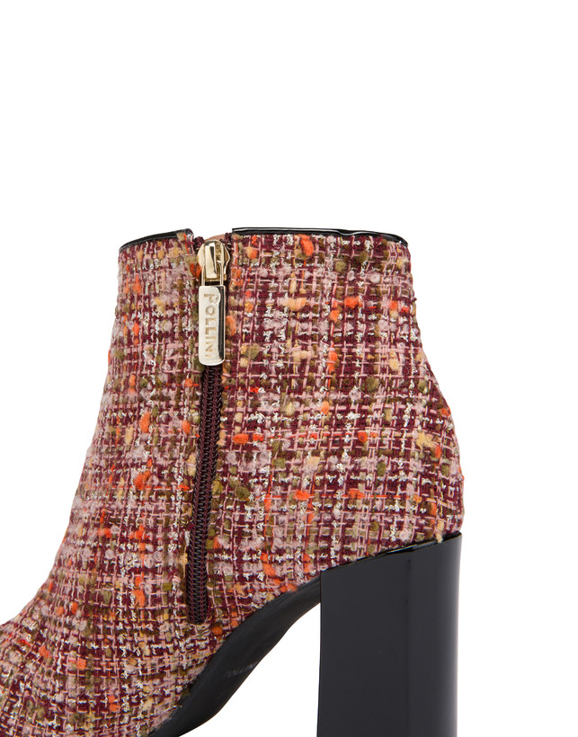 Twin P wool fabric ankle boots Photo 5