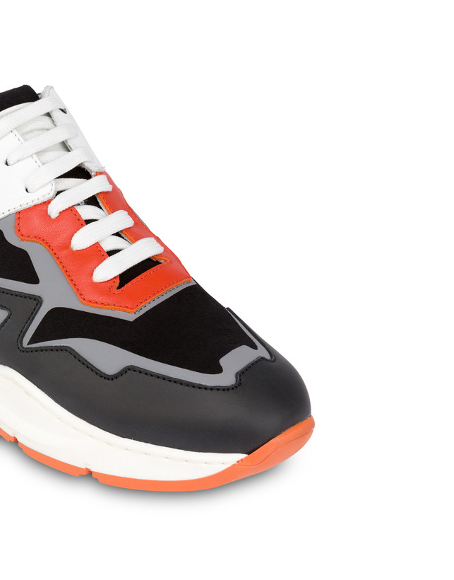 Sneakers in crosta e vitello New Kite Photo 5