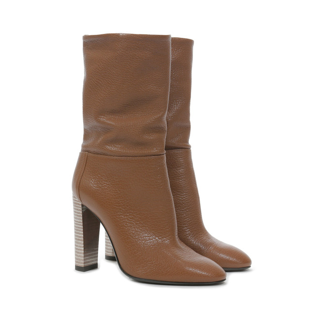 Ankle boots Leather brown