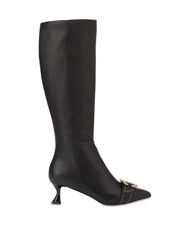 Breakfast At Tiffany's calfskin boots Photo 1