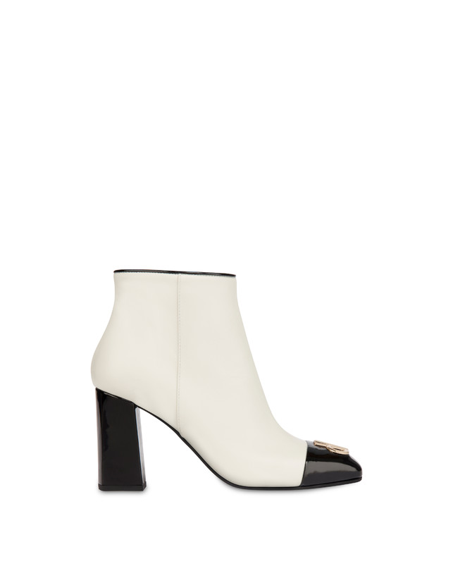 Twin P calfskin ankle boots Photo 1