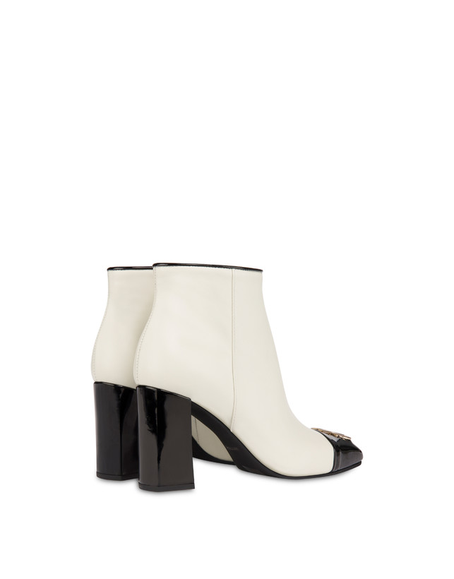 Twin P calfskin ankle boots Photo 3
