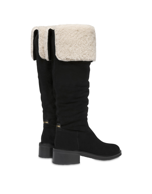 Frost Line suede leather boots Photo 3