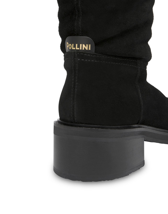 Frost Line suede leather boots Photo 4