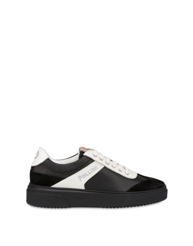 Classic tumbled calfskin sneakers Photo 1