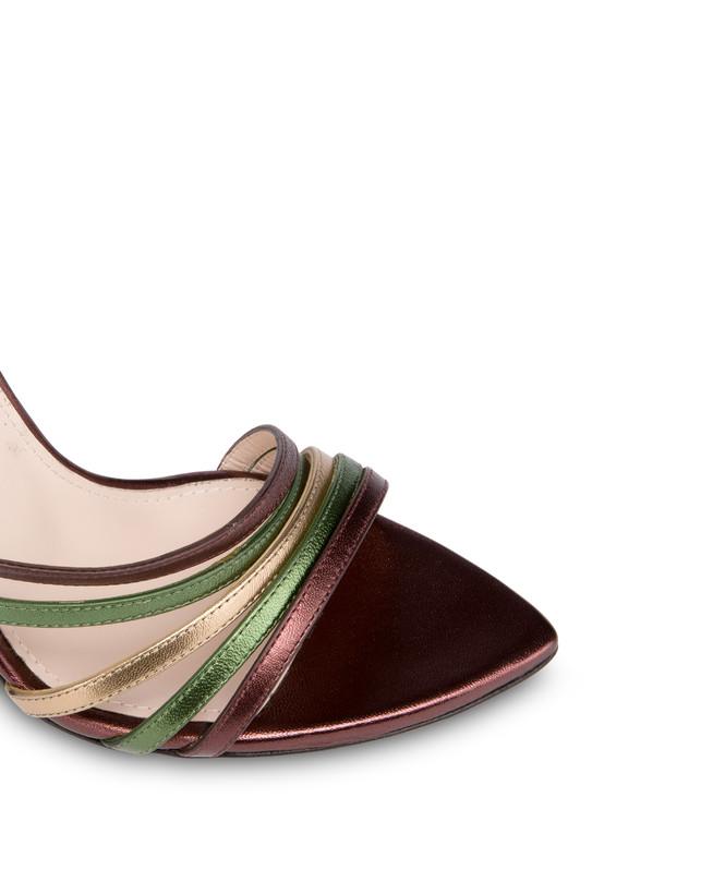 Laminated nappa leather Evening Sandals Photo 4