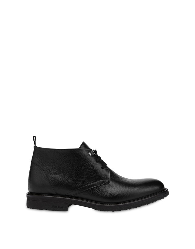 Classic Rubber calfskin ankle boots Photo 1