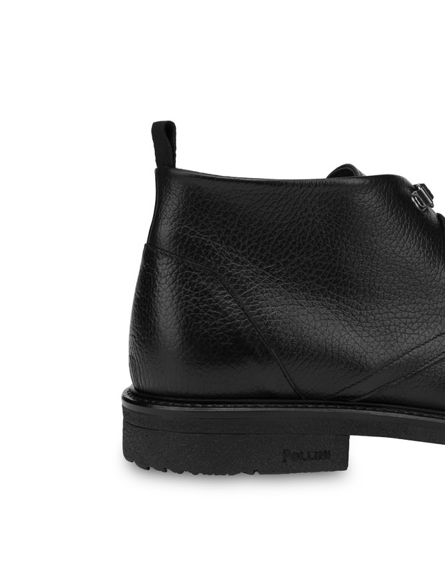 Classic Rubber calfskin ankle boots Photo 5