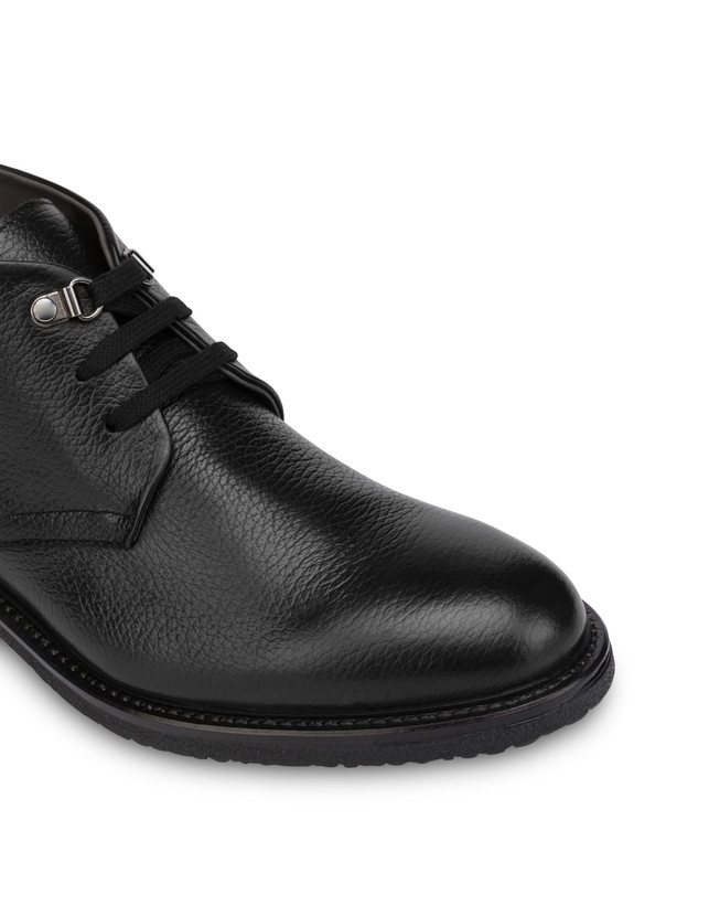 Classic Rubber calfskin ankle boots Photo 6