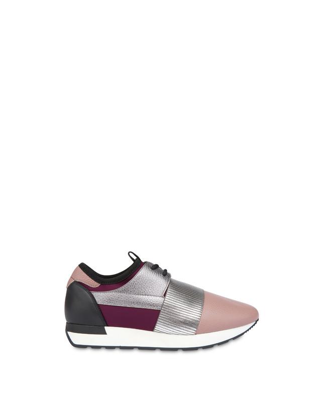 Shiny Elastic Run slip-on sneakers Photo 1