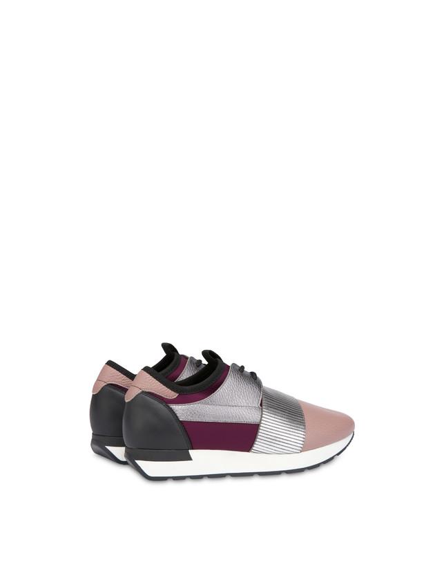 Shiny Elastic Run slip-on sneakers Photo 3
