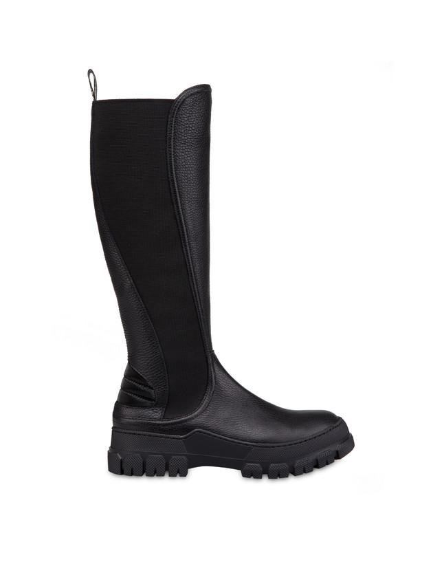 Snow Hill Climb tumbled calfskin boots Photo 1