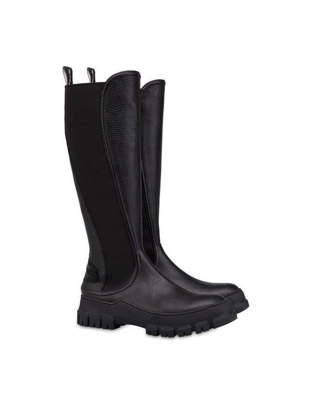 Snow Hill Climb tumbled calfskin boots Photo 2