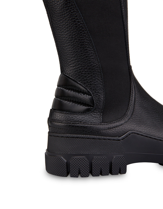 Snow Hill Climb tumbled calfskin boots Photo 4