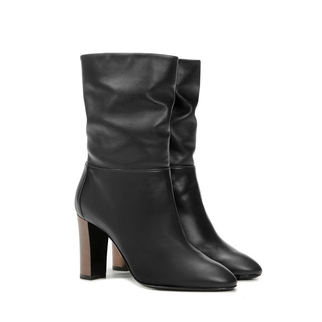 Ankle boots Black/brown