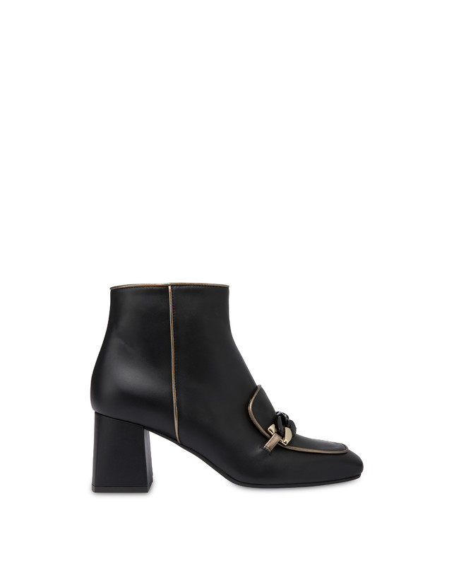 Sunkissed calfskin ankle boots Photo 1