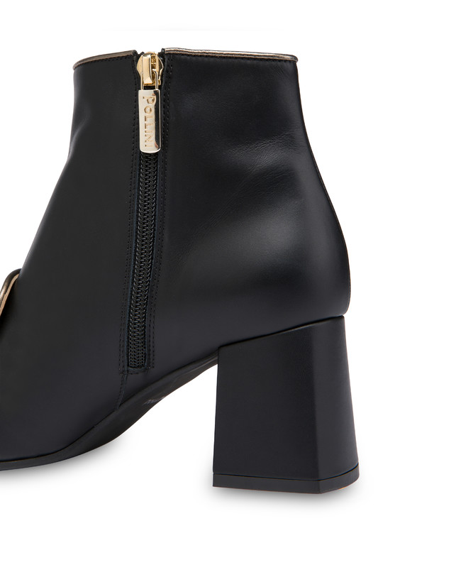 Sunkissed calfskin ankle boots Photo 5