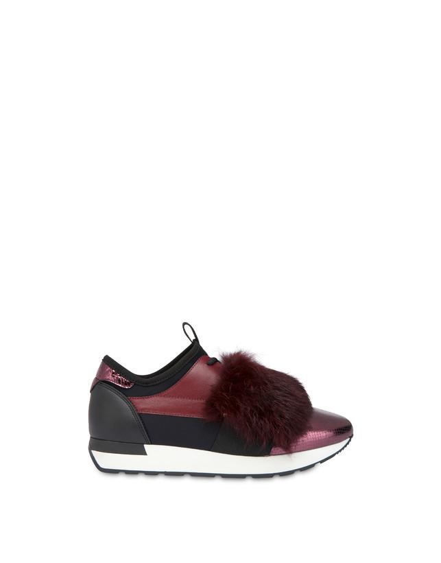 Sneakers slip-on Fur Elastic Run Photo 1