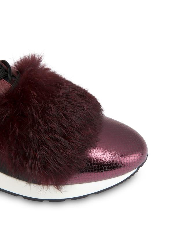 Sneakers slip-on Fur Elastic Run Photo 4