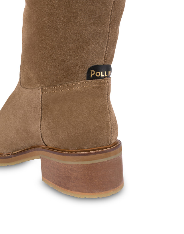 Frost Line suede leather boots Photo 5