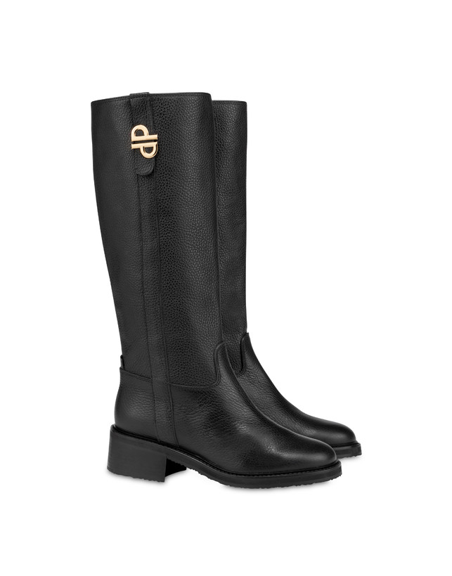 Twin P tumbled calfskin boots Photo 2