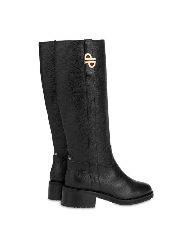 Twin P tumbled calfskin boots Photo 3