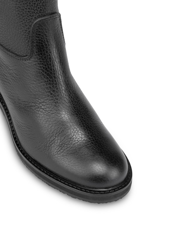 Twin P tumbled calfskin boots Photo 4