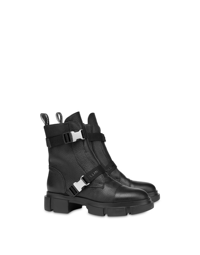 Snow calfskin ankle boots Photo 2